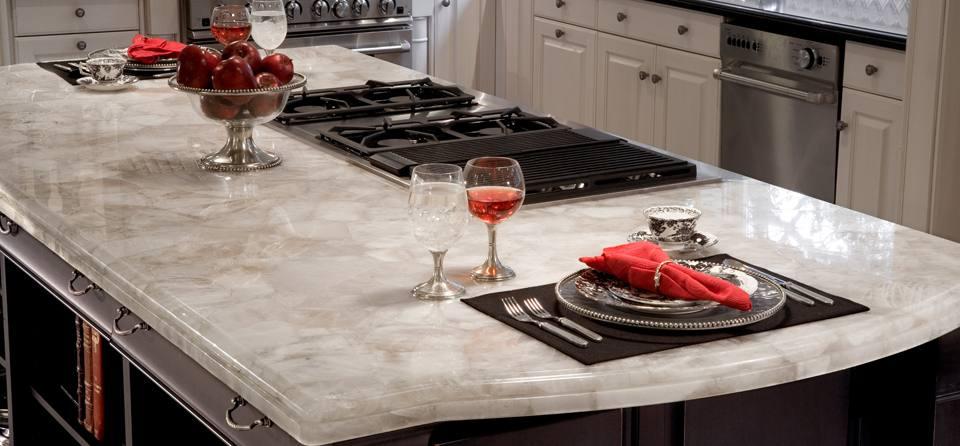 Как не прогадать с выбором кухонной столешницы